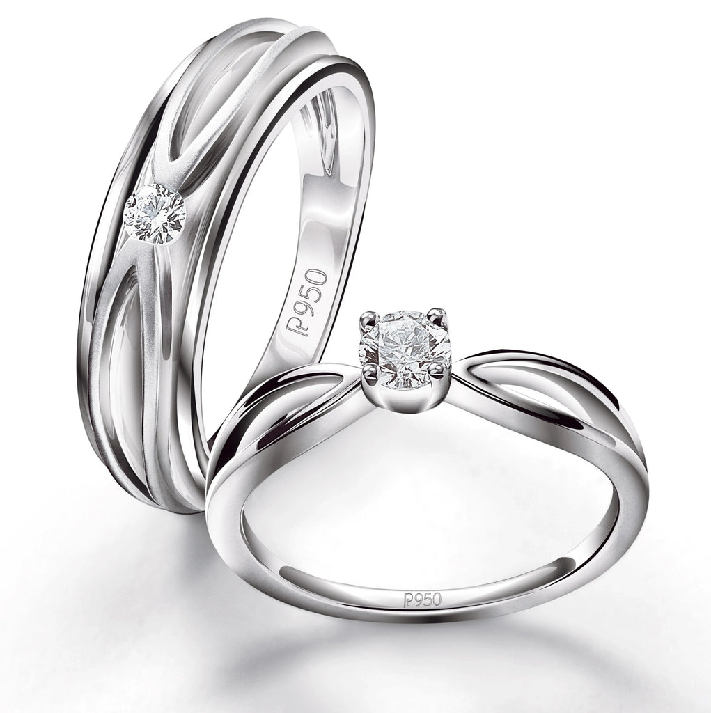 ring posen platinum diamond rings truly single in pin zac