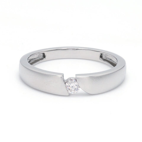 Elegant Single Diamond Ring for Men JL PT 578 Ring Size 21
