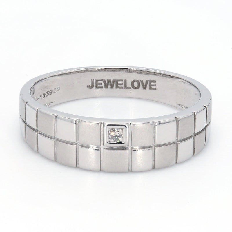 Chess Inspired Platinum Love Bands in Platinum JL PT 423