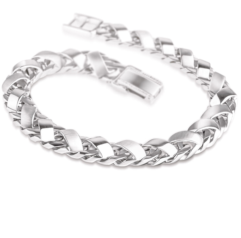 Heavy Platinum Bracelet for Men JL PTB 641