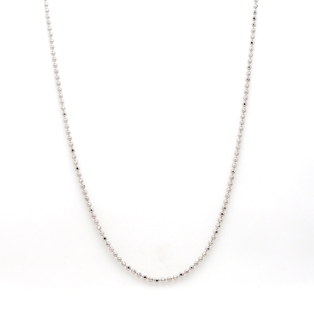 Japanese Plain Platinum Ball Chain JL PT CH 970
