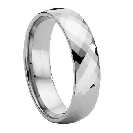 Ready to Ship - Ring Size 20, Mirror Finish Platinum Love Bands JL PT 948