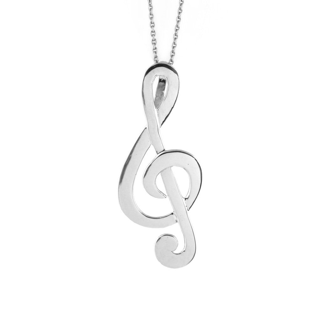 piano and notes musical dotoly shaped quaver charm in necklace note large grand products silver pendant