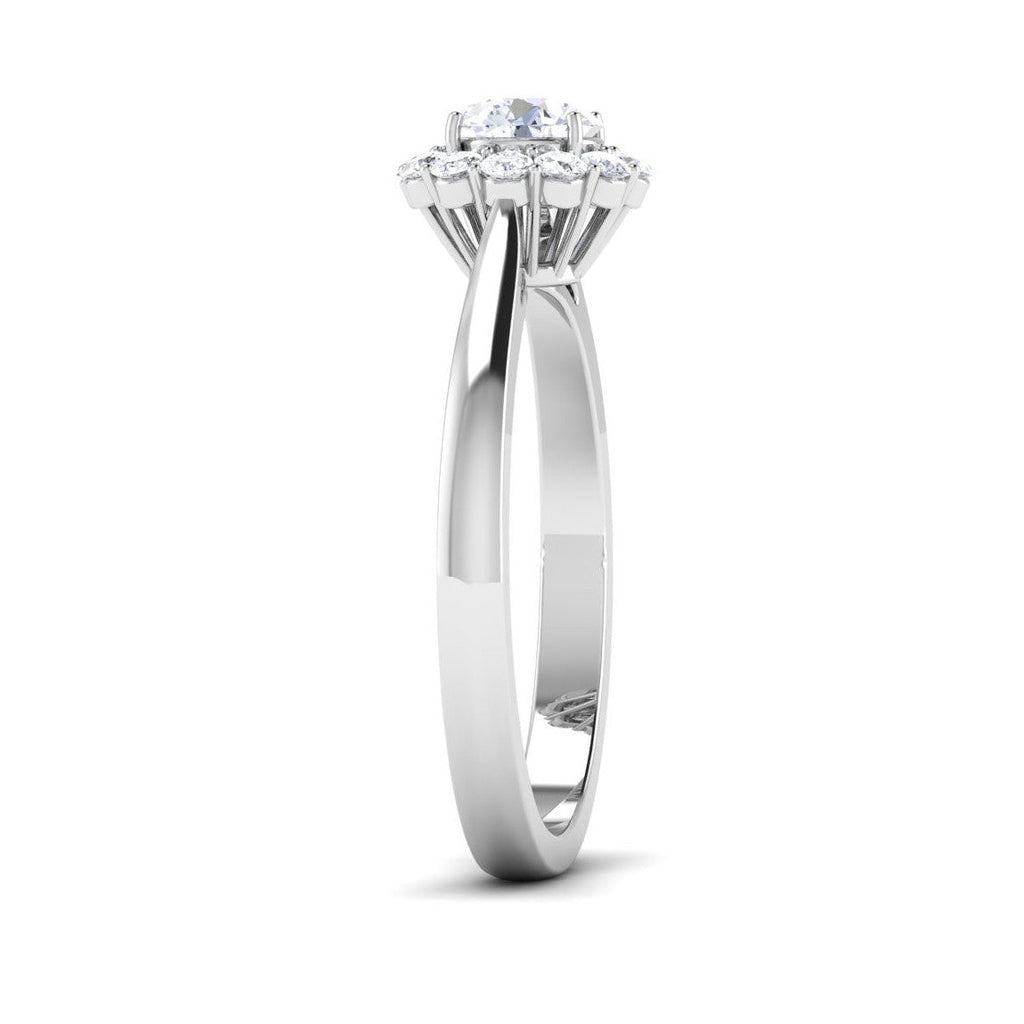 solitaire diamond shank with product rings rose engagement twisted gold ring round plain home