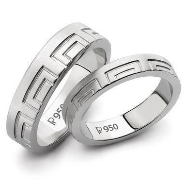 Price Point Platinum Love Bands SJ PTO 131