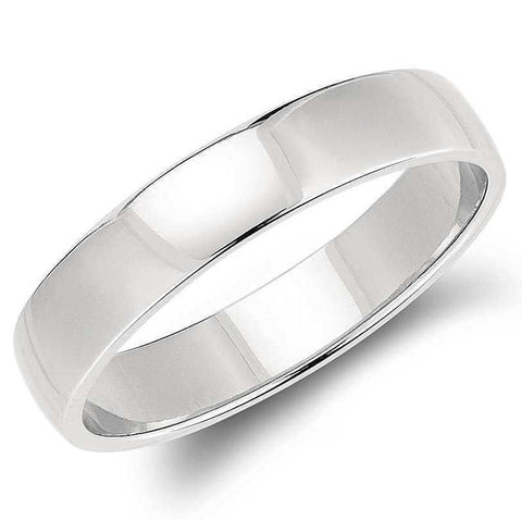5mm Classic Platinum Band for Men SJ PTO 259