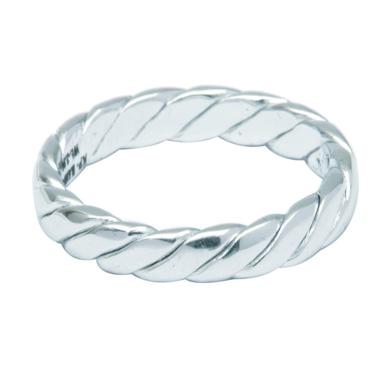 UniSex Plain Platinum Band with Slanting Cuts JL PT 488