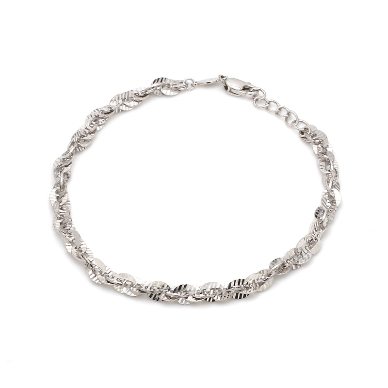 Designer Shiny Platinum Bracelet for Women JL PTB 661