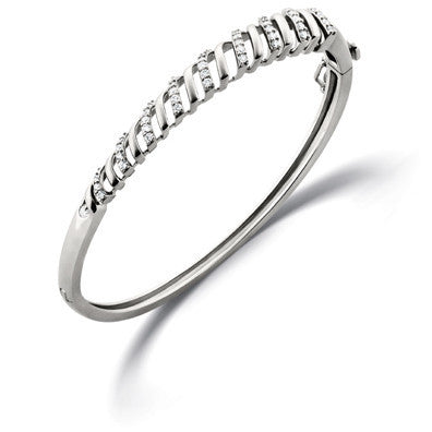 Eternal Circle of Life Platinum Bracelet with Diamonds SJ PTB 101 in India