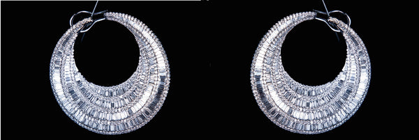 The Jewelove Diamond Earrings - Suranas Jewelove  - 1