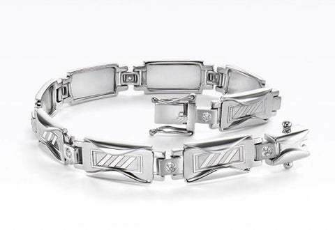 Platinum Evara Bracelet for Men JL PTB 647