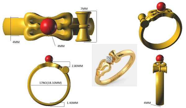 Customised Rudraksh Rings