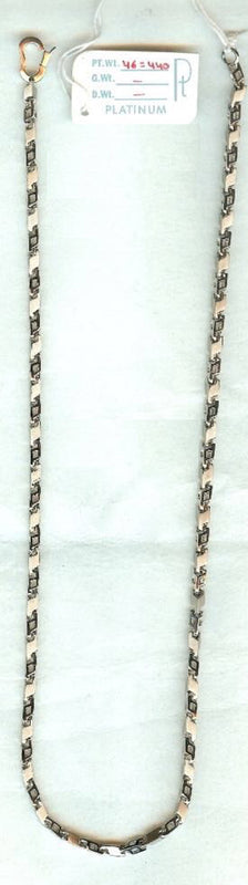 Platinum Mens Chains in India - Heavy Unisex Platinum Chain JL PT 720