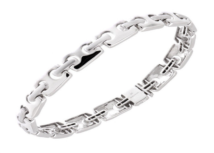 Platinum Bangles in India - Platinum Bracelet For Men JL PTB 621
