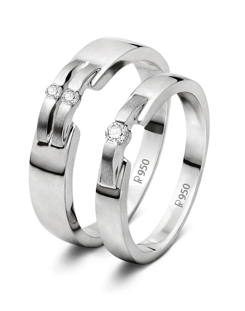 for buy platinum online barcode a best ring her women orra bands