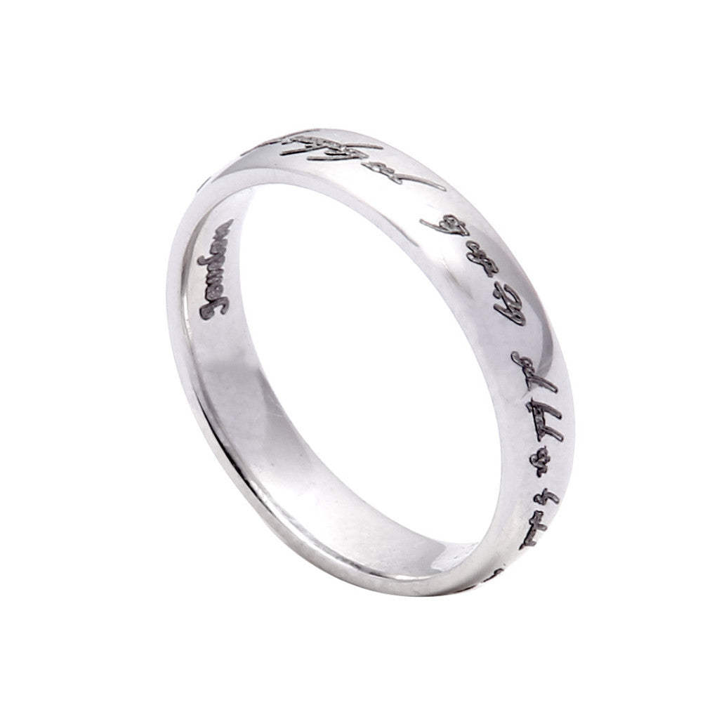 original product alison com by alisonmacleod ring in bands notonthehighstreet wedding macleod platinum patterned
