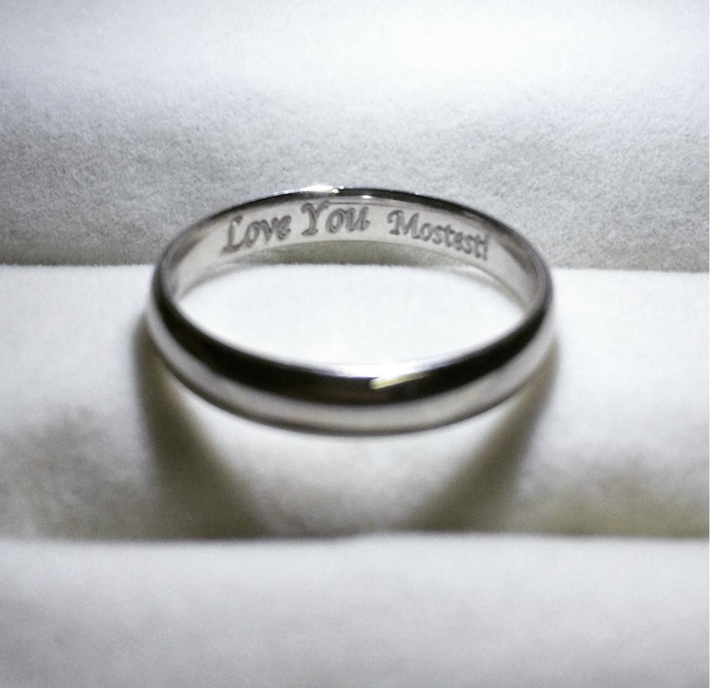 platinum elvish of pt with poem products made jl custom love bands engraved rings