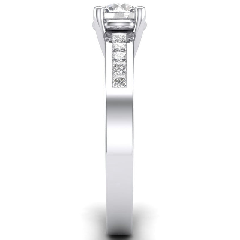 Platinum Mountings, Semi-Mounts & Engagement Ring Settings – Jewelove™