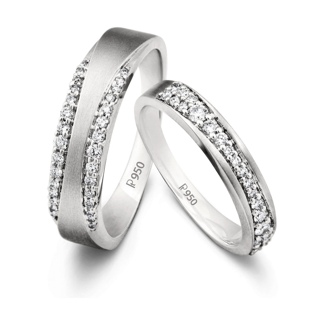 love platinum ranka bands matt finish by pin in jewellers infinity