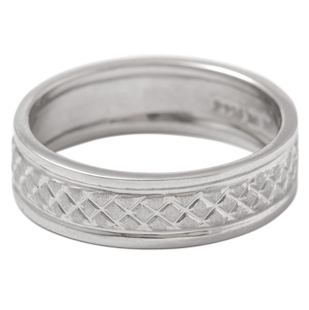artcarved titanium mens bands plain band platinum honor wedding in