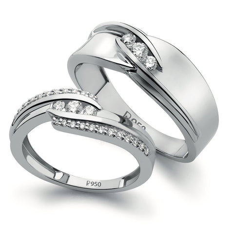 eternity brilliant ring set platinum round cut p rings half channel