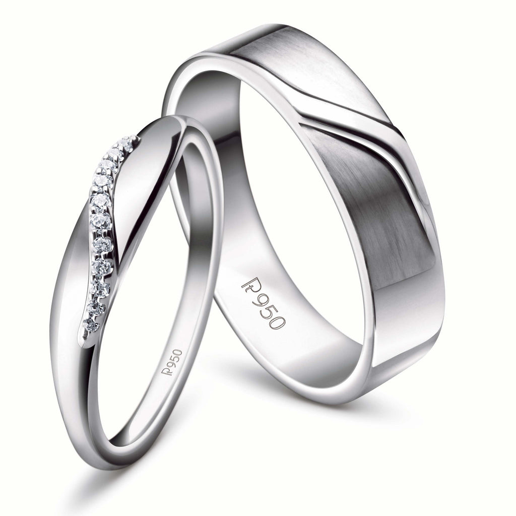 diamond ring rings london wedding unity platinum wishbone jian