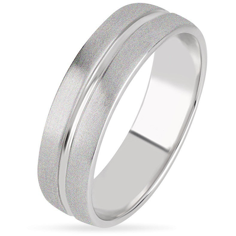 platinum men half s wedding bands round band