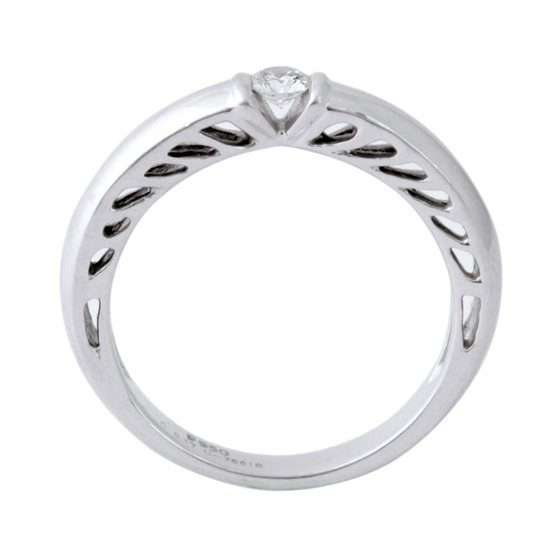 Platinum Solitaire Ring for Men by Jewelove JL PT 401 - Suranas Jewelove  - 2