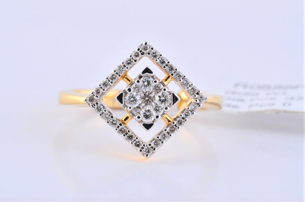 Simple Diamond Ring by  Jewelove - Suranas Jewelove