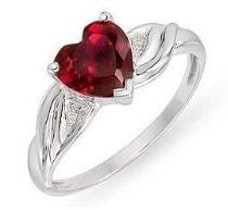 The Queen of Hearts Ruby Ring JL R 67 - Suranas Jewelove