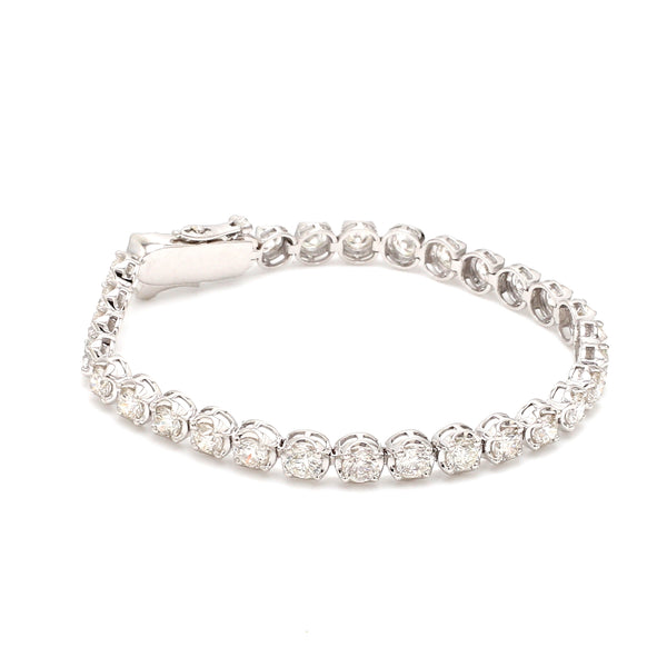 18-Pointer Diamond Tennis Bracelet JL PTB 755