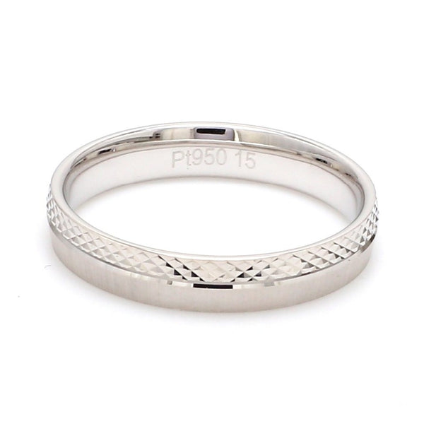 Better Half Japanese Platinum Rings for Couples JL PT 942