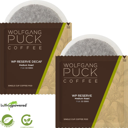 Wolfgang Puck Zero Waste Soft Pods - Compostable Film