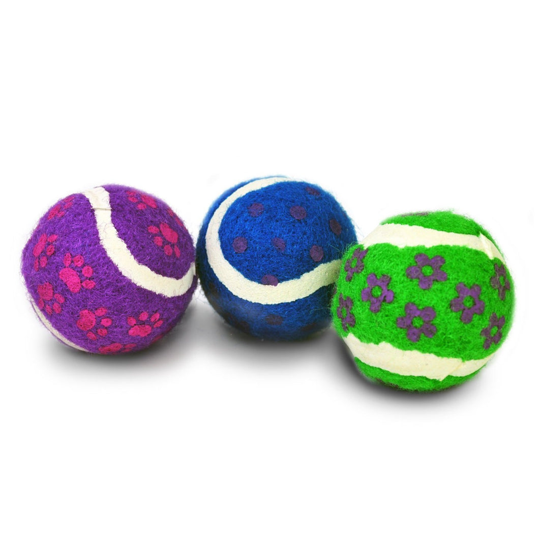 Cat Mini Tennis Balls with Bells