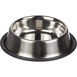 Traditional Stainless Steel Pet Bowls