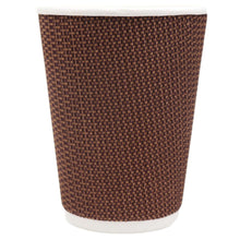 Load image into Gallery viewer, Brown & Black Texturized Insulated Hot Cups