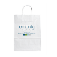 Load image into Gallery viewer, Custom Branded Recycled Paper Pet Welcome Bag