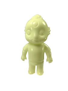 "Drunk Boy Glow In The Dark by LeMerde x Super 7, Japanese soft vinyl, 5.5"" tall. 2009, Vintage"