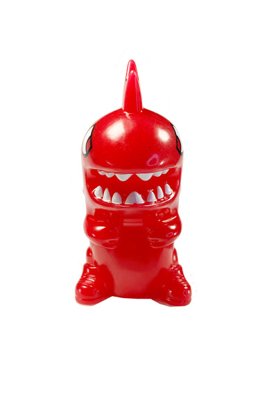 "Tokidoki x Sonic, Wacky Pack, KAIJU SPICY, 4"" Tall, Red Color-Changing Vinyl"