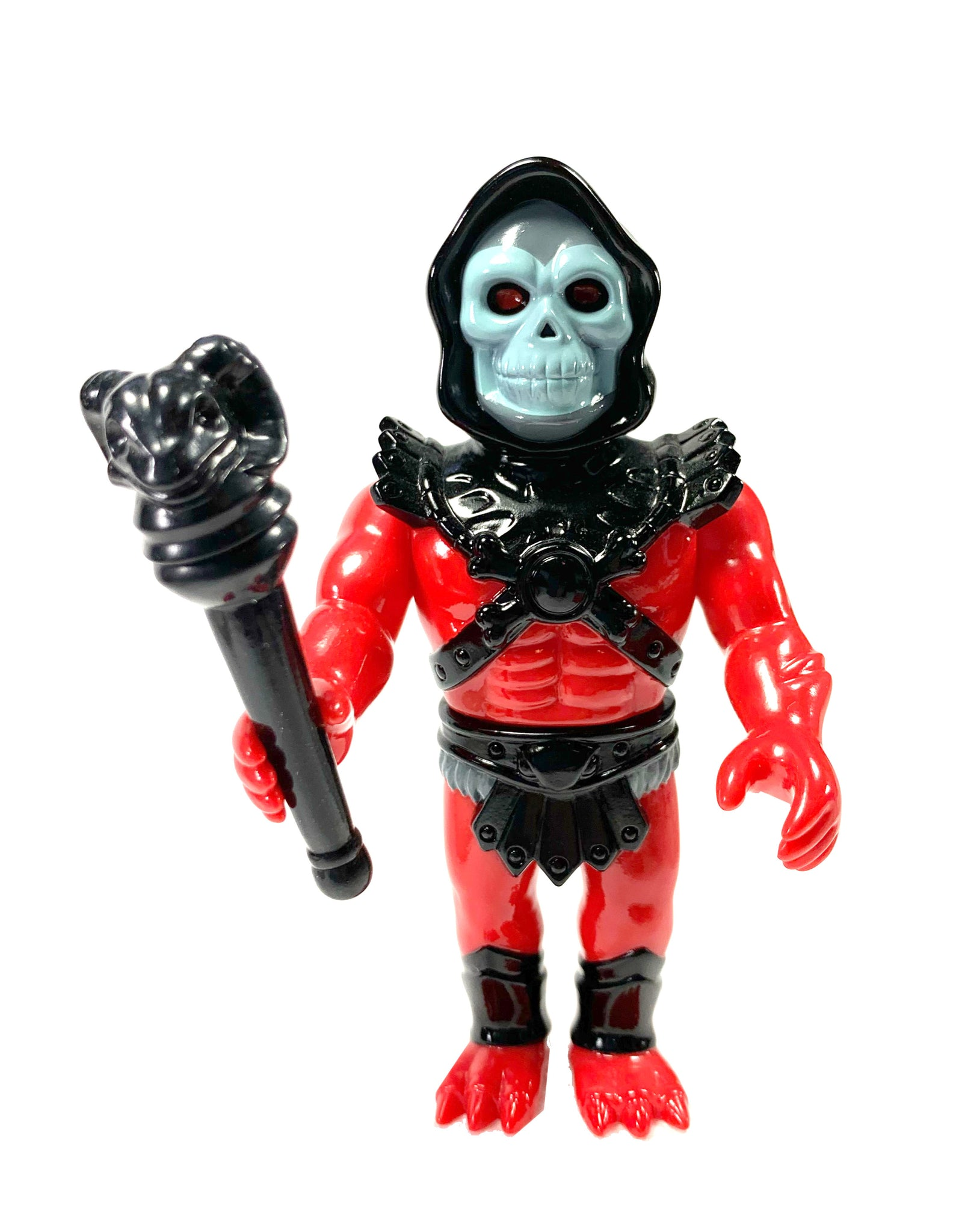 "Skeletor Boxed Vinyl figure, MOTU series from Super 7, New in Box 4"" Tall."