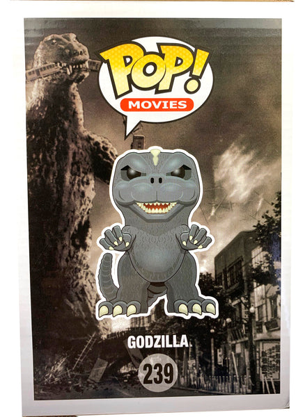 Godzilla Funko POP, PX Previews Exclusive, Blue Glows In The Dark Limited Edition