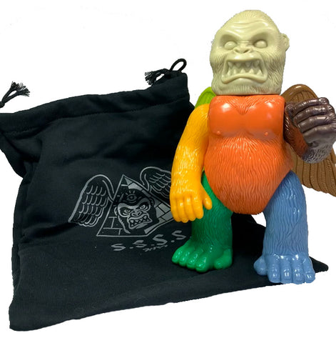 "Wing Kong Ltd. S.S.S.S. Exclusive Mixed Parts 8.5"" Tall, arriving in his own Sweatshirt Bag"