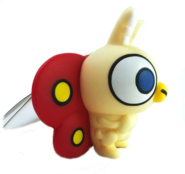 "Chibi Mothra 4"" Cream Vinyl Toy by Bandai"