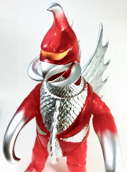 "Gigan 10"" Clear Red Vinyl Figure by Giga Brain"