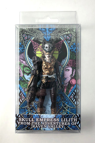 "Skull Empress Lilith with EFP Blaster Arm 4"" Figure in Resealable Window Box"