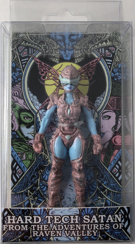 "Hard Tech Satan 4"" Figure in Clear Window Box"
