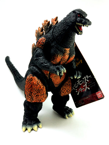 Godzilla Burning Goji Movie Monster Series 6 inch Soft Vinyl Toy Figure by Bandai