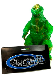 Godzilla 1962 Clear Green Vinyl by Gigabrain