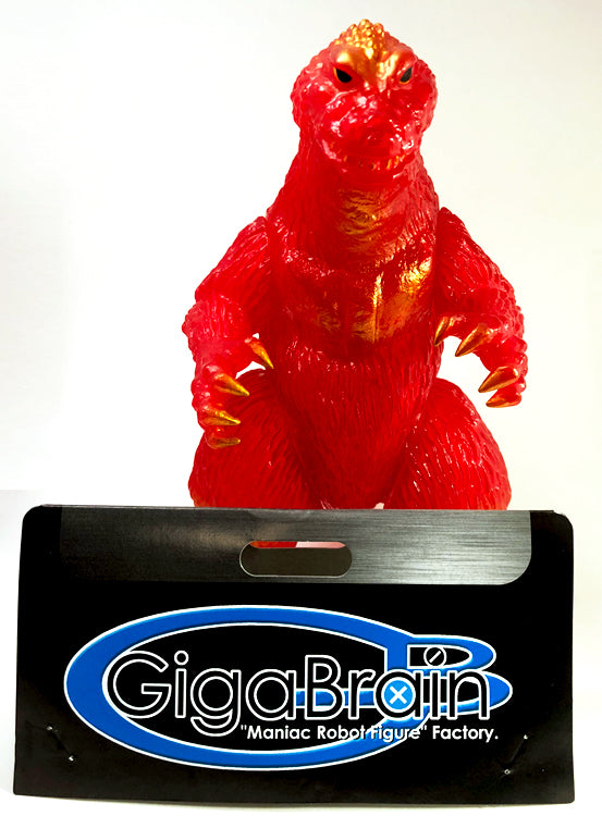 Godzilla 1962 Clear Red Vinyl by Gigabrain