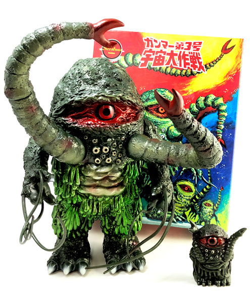 "GREEN SLIME 8"" Vinyl Figure by Siccaluna"
